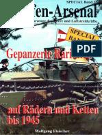 Waffen Arsenal - Special Band 35 - Gepanzerte Raritäten auf Rädern und Ketten bis 1945