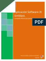 Aplicación Software JK Simblast CMSG.2