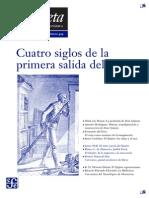 La Gaceta - Enero 2005 - Cuatro Siglos de La Primera Salida Del Quijote