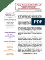 hfc august 31 2014 bulletin 1