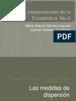 6. Las medidas de dispersión.ppsx