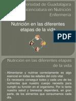 ..Nutrición en Las Diferentes Etapas de La Vida