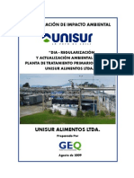 DIA Planta de RILes Unisur Alimentos Ltda (1)