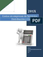 Costos Comerciales Servicios Distribucion