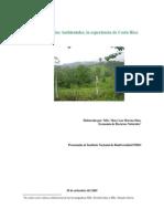 Pago Por Servicios Ambientales, La Experiencia de Costa Rica