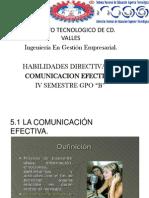 Unidad 5 Comunicacion Efectiva.