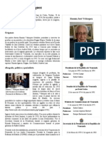 Ramón José Velásquez - Biografia