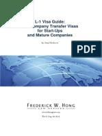 L-1 Visa Guide
