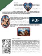 Leyenda de Iztaccíhuatl y Popocatépetl