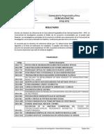 Resultados CPCE 2014-2015