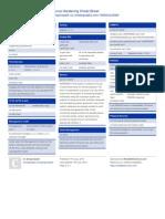 Procurve Hardening Sheet