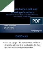 Dioxinas Leche