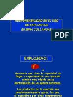 Responsabilidad en Uso de Explosivos
