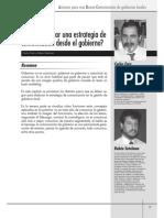 Fara, Carlos Estrategia de Comunicación de Gobierno