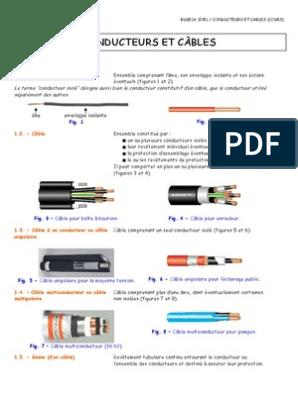 Conducteurs Et Cables Cours Polychlorure De Vinyle Silicone