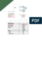 Hojas Excel Para Informe de Tesis