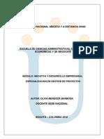 Modulo de Iniciativa y Desarrrollo Empresarial