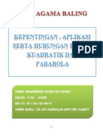 Folio Fungsi Kuadratik
