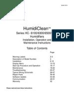 Manual Humidificador Interlomas
