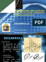GEOMETRÍA DESCRIPTIVA - DESARROLLO