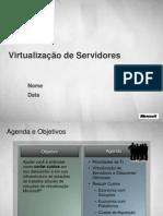 Visão Geral Da Virtualização de Servidores