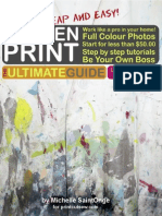 ScreenPrint Ultimate Guide
