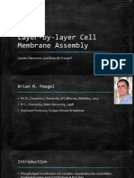 Layer-By-layer Cell Membrane Assembly
