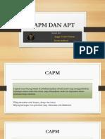 Capm Dan Apt Fix Ppt