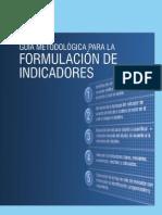 Guia Metodologia Formulacion Indicadores