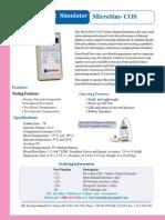 MicroSim-COS-2007 r1 Datasheet Cardiac Output