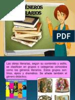 GENÉROS LITERARIOS