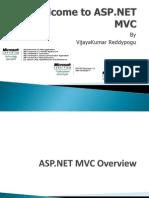 Introduction ASP NET MVC