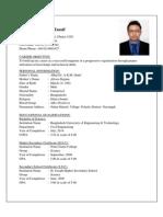 Saleh M.tausif CV #
