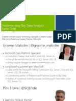 SQL2014 Big Data Module 1