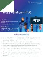 IPv6 Rutas Estáticas