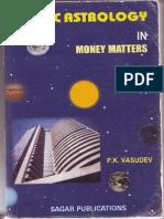 214515880 Vedic Astrology in Money Matters P K Vasudev