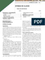 Manual Mecanica Automotriz Sistemas de Claxon