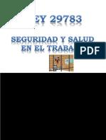 SESIÓN 1 LEY 29783 2014