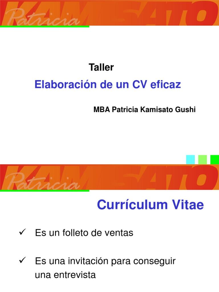 Taller Cv