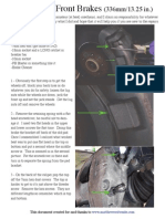 2005 XC90 Front Brakes Replacement