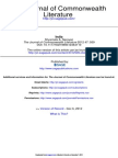 The Journal of Commonwealth Literature 2012 Narayan 509 34