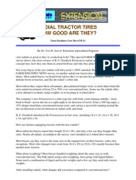 Tractor Radial Tyres
