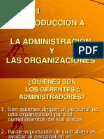 Intr. Administr. y Organizacio
