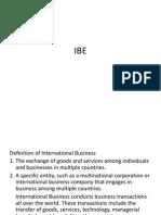 IBE MBA