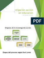 La Investigación Acción en Educación