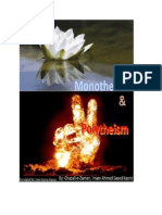 Monotheism and Polytheism.