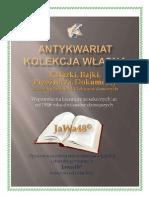 Jerzy Głowacki_o Warszu z Dębicy i Wiślanej Rusałce