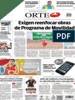 Periódico Norte edición del día 30 de agosto de 2014