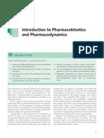 Introduction to pharmacokinetics and pharmacodynamics