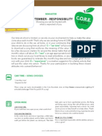 responsibility newsletter